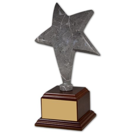 11 in Gray Marble Star Trophy