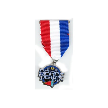 1-1/4 in Space Derby Medal