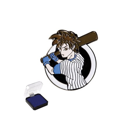 1 in Baseball Sports Pin