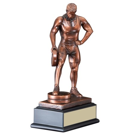 12 in Male Bar in Hand Weightlifting Trophy