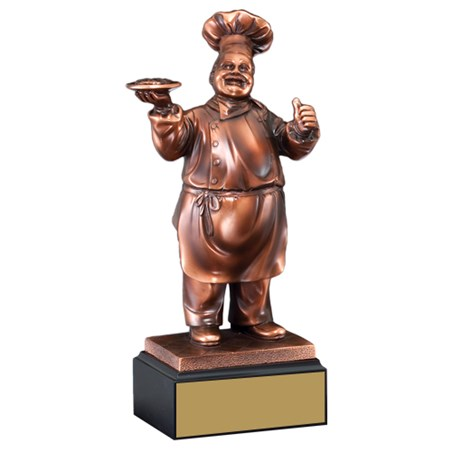 11 in Chef Cooking Trophy