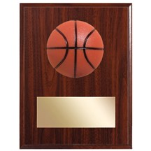 3D Basketball Plaque