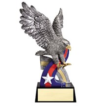 Resin Eagle Award Statue