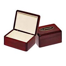 Rosewood Piano Finish Jewelry Box - 2 Sizes