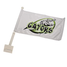 Car Flags w/ Pole - 2 Sizes