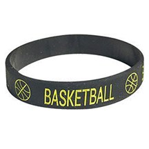 Basketball Silicone Wrist Band