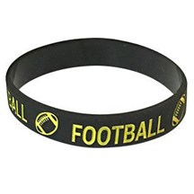 Football Silicone Wrist Band