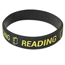 Reading Silicone Wrist Band