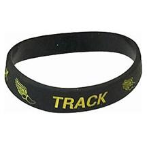 Track Silicone Wrist Band