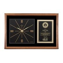 Genuine Walnut Clock Plaque