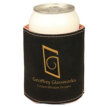 Black Leatherette Beverage Holder