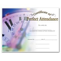 Perfect Attendance (8-1/2