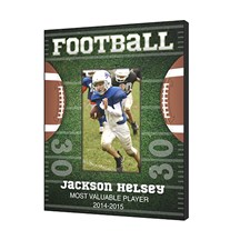 Customized Football Picture Frame