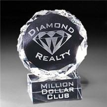 Optic Crystal Diamond Award