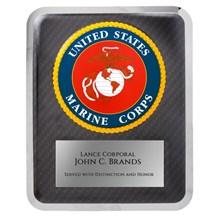 10.5 x 13 Marine Seal Hero Plaque