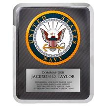 10.5 x 13 Navy Seal Hero Plaque