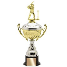 Metal Trophy Cup w/ Weighted Base - 3 Sizes