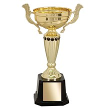 Gold Metal Cup w/ Weighted Base - 5 Sizes
