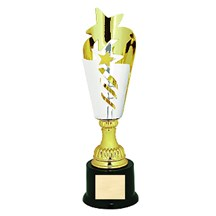 Silver/ Gold Star Metal Cup - 3 Sizes