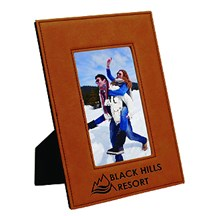 Rawhide Leatherette Photo Frame - 3 Sizes