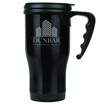 14 oz. Stainless Steel Travel Mug - Black