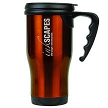 14 oz. Stainless Steel Travel Mug - Orange