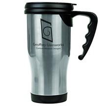 14 oz. Stainless Steel Travel Mug - Silver