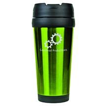 16 oz. Stainless Steel Travel Mug - Green