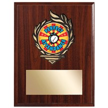 Victory Flame Academic Plaque