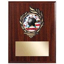 Victory Flame Bowling Plaque