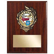Victory Flame Coach Plaque