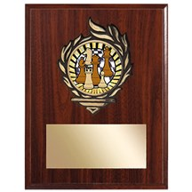Victory Flame Chess Plaque