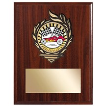 Pinewood Derby Award Plaque