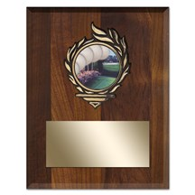 Victory Flame Golf Plaque