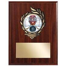 Victory Flame Hockey Plaque