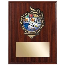 Victory Flame Poker Plaque