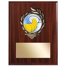 Victory Flame Tennis Plaque