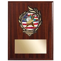 Victory Flame Track Plaque