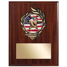 Victory Flame Wrestling Plaque