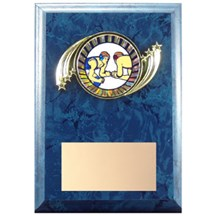 Action Frame Wrestling Plaque