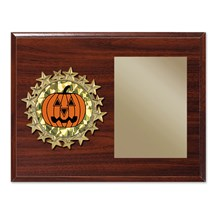 Star Frame Halloween Plaque - 2 Sizes