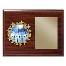 Star Frame Swimming Plaque