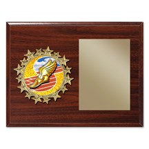 Star Frame Track Plaque