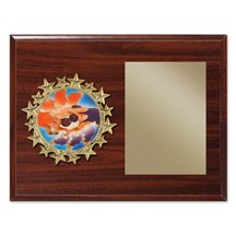 Star Frame Wrestling Plaque
