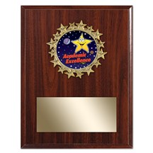 Star Frame Academic Plaque