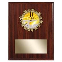 Star Frame Gymnastics Plaque