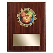 Star Frame Halloween Plaque - 3 Sizes
