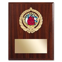Gold Braid Boxing Plaque