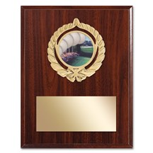 Gold Braid Golf Plaque