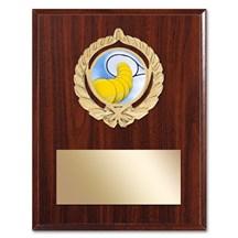 Gold Braid Tennis Plaque
